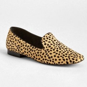 Gap   Animal Print Calf Hair Loafers - Sz 9